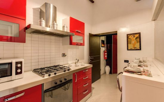 Electrical Tools in Modern Kitchen | Luxury Apartment near Pantheon, Rome