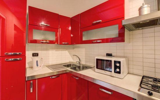 Fully Equipped Modern Kitchen in Luxury Apartment | Apartment in the Ancient City of Rome