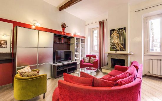 Atena 3. Vacation apartments for rent in the center of ancient Rome | Apartments in Rome near Piazza Navona, Pantheon and Saint Peter