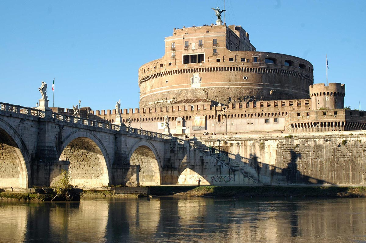 Castel Sant'Angelo, the Mausoleum for Emperor Hadrian