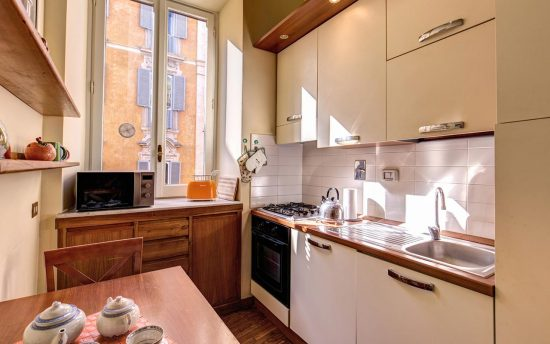 Apartment in rome center. Confortable and Modern Kitchen | Rome Luxury Apartment
